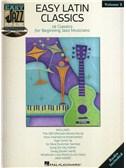 Easy Jazz Play-Along Volume 5: Easy Latin Classics. C Instruments Sheet Music, CD