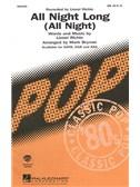 Lionel Richie: All Night Long (SAB)