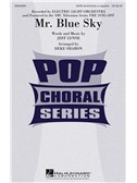 Electric Light Orchestra: Mr. Blue Sky (SATB). Choral Sheet Music