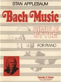 Stan Applebaum: Bach Simple Style