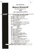 Alan Hovhaness: Majnun Answered (From 'Majnun', Symphony No.24)