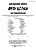 Wallingford Riegger: New Dance For Concert Band, Op. 18c