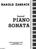 Harold Zabrack: Piano Sonata No. 2