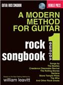 A Modern Method For Guitar: Volume 1 - Rock Songbook