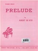 Albert De Vito: Prelude