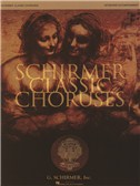 Schirmer Classic Choruses: Keyboard Accompaniment