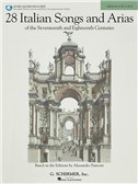 28 Italian Songs And Arias Of The 17th And 18th Centuries - Medium Low Voice (Book/2 CDs)