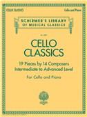 Cello Classics - Intermediate To Advanced Level