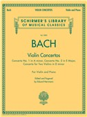 J.S. Bach: Violin Concertos. Sheet Music