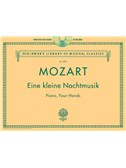W.A. Mozart: Eine Kleine Nachtmusik - Piano Duet Play-Along. Sheet Music, CD