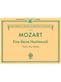 W.A. Mozart: Eine Kleine Nachtmusik - Piano Duet Play-Along