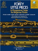 Forty Little Pieces (Book/Online Audio)