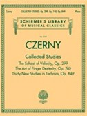 Schirmer's Library of Musical Classics - Czerny: Collected Studies – Op. 299, Op. 740, Op. 849