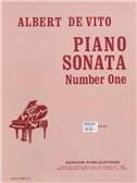Albert De Vito: Piano Sonata Number One