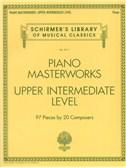 Piano Masterworks: Upper Intermediate Level