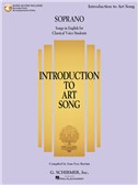 Introduction To Art Song For Soprano (Book/Online Audio)