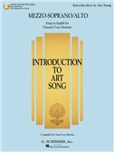 Introduction To Art Song For Mezzo-Soprano/Alto (Book/Online Audio)