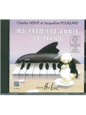 Herve/Pouillard: Ma Premiere Annee De Piano (French/English)
