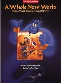 Alan Menken: A Whole New World (Big Note Piano Edition)