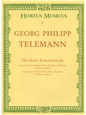 Georg Philipp Telemann: Little Chamber Music (Bärenreiter Urtext Edition)