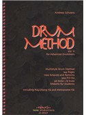 Andreas Schwarz: Drum Method Vol.2 For Advanced Drummers (English). Drums Sheet Music, CD