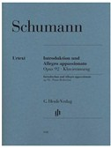 Schumann: Introduction And Allegro appassionato Op.92 Piano Reduction