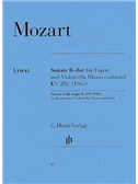 W.A. Mozart: Sonata In B Flat K.292 (Henle Urtext Edition)