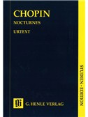Frederic Chopin: Nocturnes (Henle Urtext Study Score)