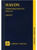 Franz Joseph Haydn: Streichquartette Op.20 (Urtext Score). String Quartet Sheet Music