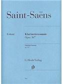 Camille Saint-Saens: Clarinet Sonata Op.167 (Urtext). Sheet Music
