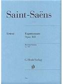 Camille Saint-Saens: Bassoon Sonata Op.168 (Urtext). Sheet Music