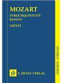 Wolfgang Amadeus Mozart: Streichquintette Band II (Urtext)