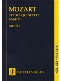 W.A. Mozart: Streichquintette Band III - Urtext (Study Score). String Quintet Sheet Music
