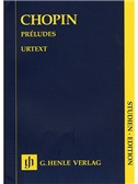 Frederic Chopin: Preludes (Henle Urtext Edition)