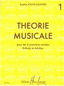 Jouve-Ganvert, Sophie : Théorie Musicale Vol.1