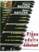 Piano Pour Adulte Débutant Avec 2 Cd (Thierry Masson)