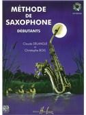 Méthode De Saxophone Pour Débutants (Claude Delangle)