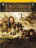 Lord Of The Rings: Instrumental Solos: Flute (Book And CD)