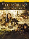 Lord Of The Rings: Instrumental Solos: Clarinet (Book And CD)