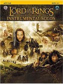 Lord Of The Rings: Instrumental Solos: Alto Sax (Book And CD)