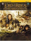 Lord Of The Rings: Instrumental Solos: Piano (Book And CD)