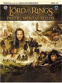 Lord Of The Rings: Instrumental Solos: Violin/Piano Accompaniment (Book/CD)