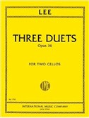 Sebastian Lee: Three Duets For Two Cellos, Op.36