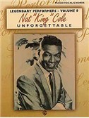 Nat King Cole: Unforgettable For Piano, Voice And Guitar