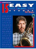 15 Easy Jazz Blues Funk Etudes Bb Trumpet/Clarinet (Book/Cd)