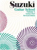 Suzuki Guitar School Volume One Guitar Part (Revised Edition)