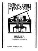 Thomas A. Johnson: Rumba - Piano Duet