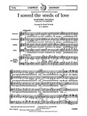 Gustav Holst: I Sowed The Seeds Of Love (SATB/Piano)