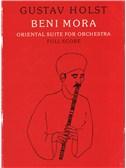 Gustav Holst: Beni Mora Full Score