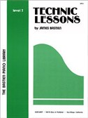 The Bastien Piano Library: Technic Lessons Level 3